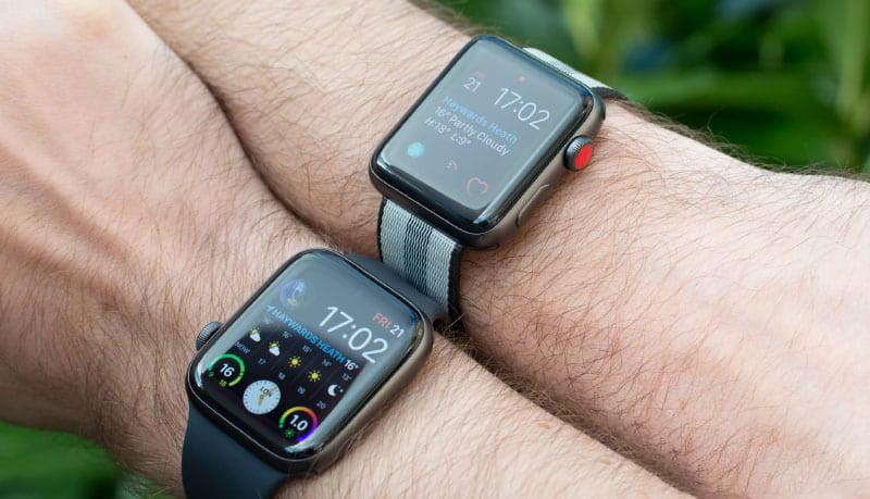 So sánh các dòng Apple Watch
