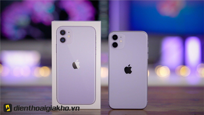 iPhone 11 màu nào bán chạy nhất ? Màu tím mộng mơ