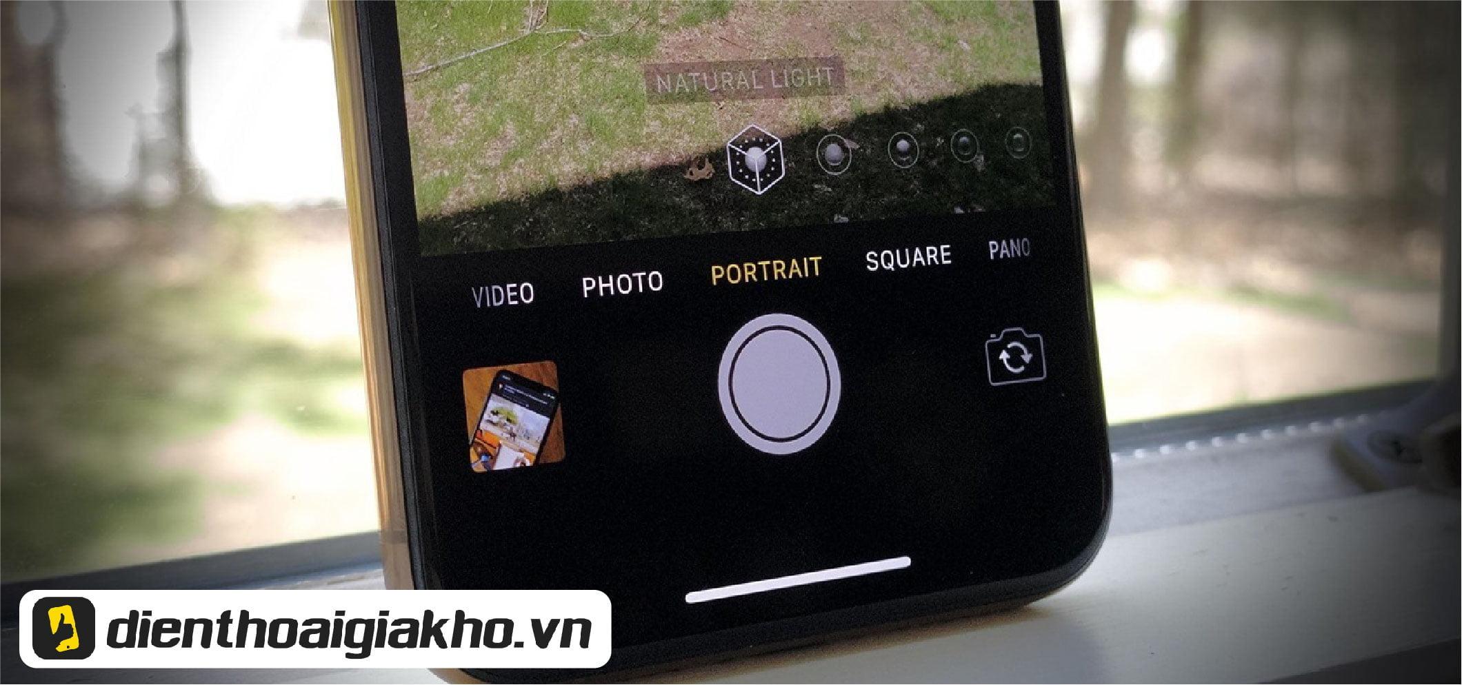 Chụp Xóa Phông trên iPhone 11