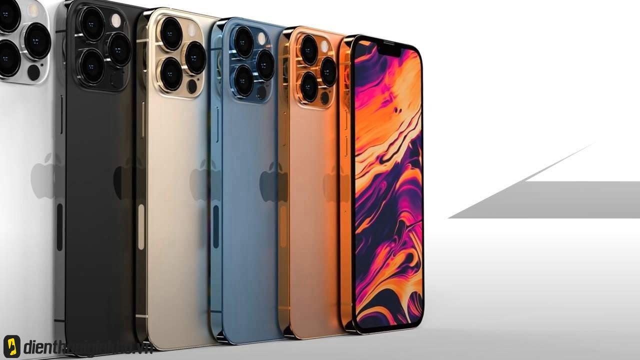 Có lẽ trong 4 sắc màu mới nhất của dòng iphone 13, thì màu cam đồng là màu hot hit nhất và được chờ đón nhất.