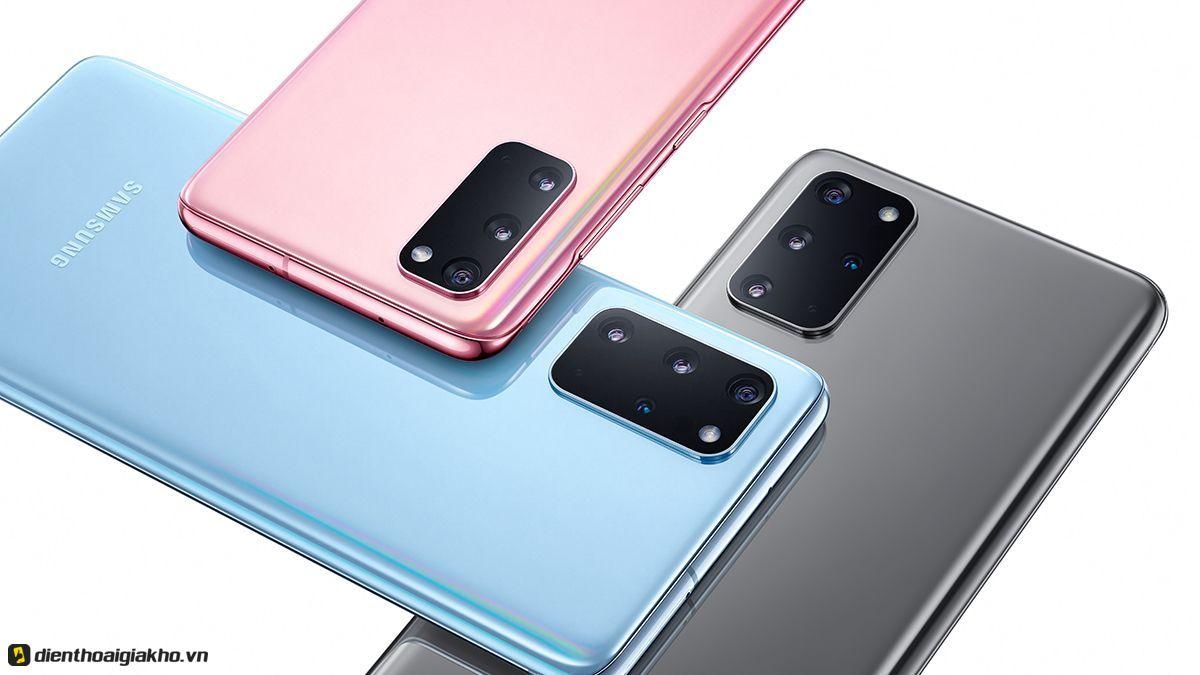 Samsung Galaxy S20 Plus sở hữu cảm biến vân tay siêu âm