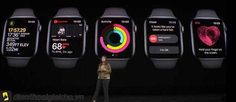 Apple Watch Series 5 44mm LTE Space Black Stainless Steel Case with Milanese Loop