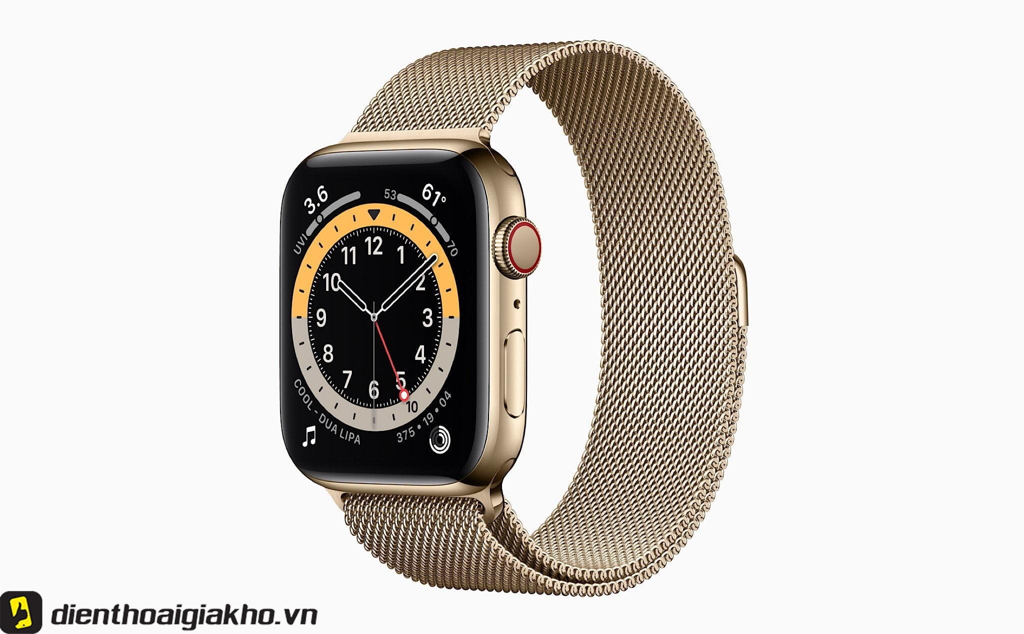 Apple Watch Series 5 viền thép dây thép