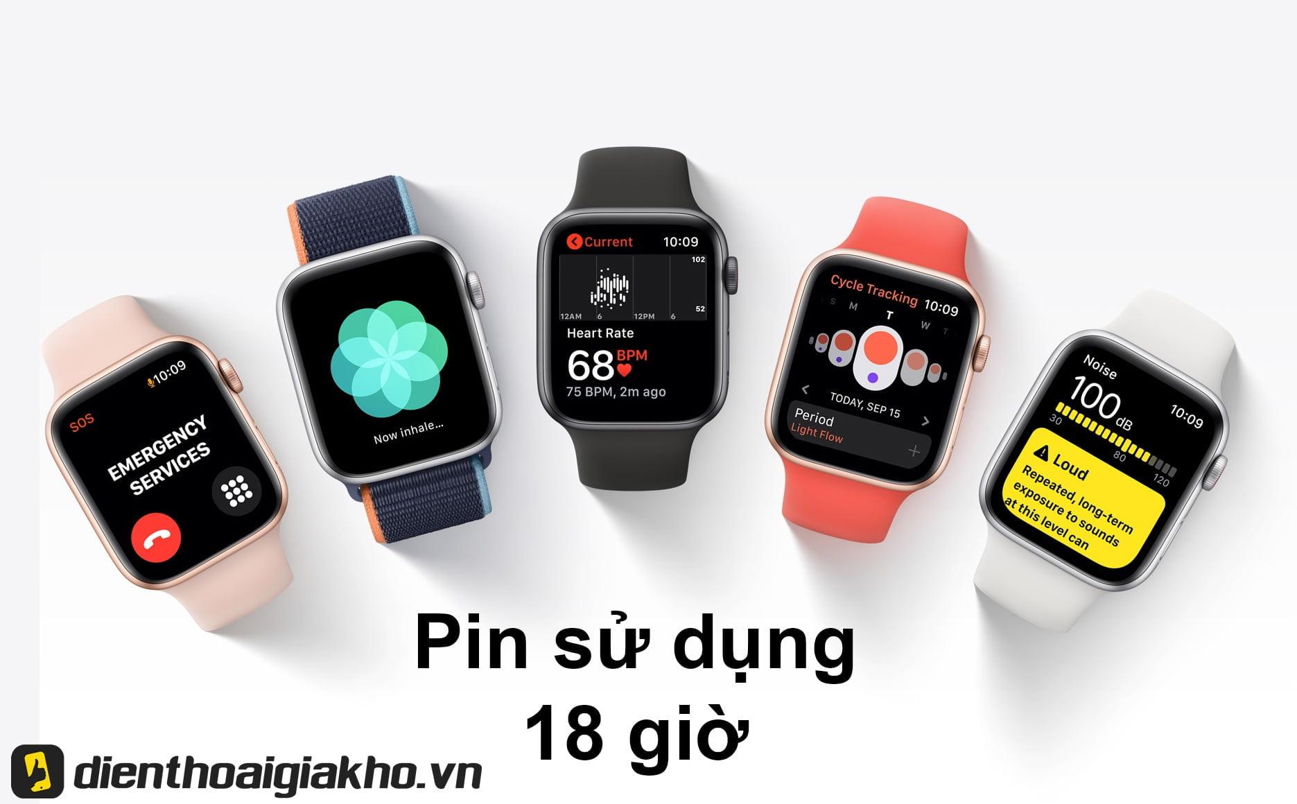 Mua Apple Watch SE 44mm GPS Aluminum Case with Sport Band