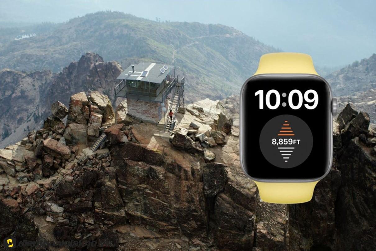 Nếu bạn là người đam mê bộ môn leo núi thì chiếc đồng hồ này sinh ra là dành cho bạn.
