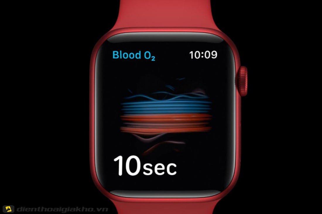 Đến nồng độ Oxy trong máu còn không thành vấn đề với Apple Watch Series 6 40mm GPS thì còn gì có thể làm khó chiếc đồng hồ này đây?