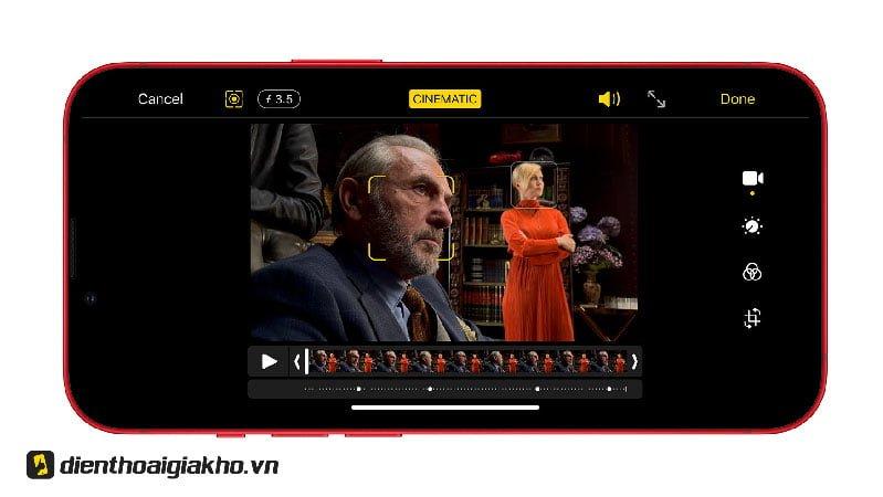 Cinematic Mode lần đầu xuất hiện trên iPhone