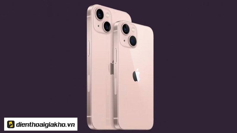 Thiết kế iPhone 13 & iPhone 13 Mini không có nhiều sự thay đổi